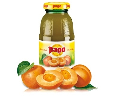Pago Marille Fruchtsaft 0,2 l Flasche