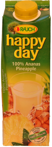 Happy Day Ananassaft 100% Fruchtsaft 1 l Tetra