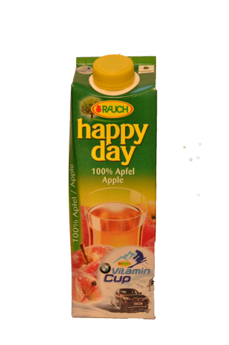 Happy Day Apfelsaft 100% Fruchtsaft 1 l Tetra