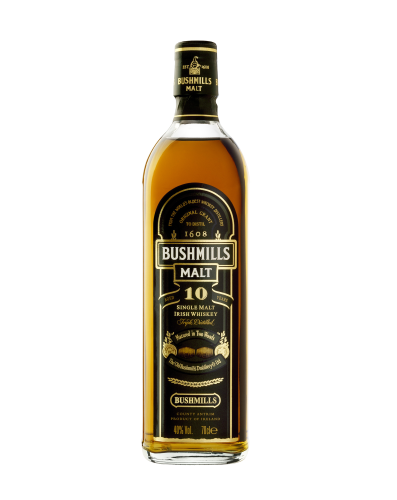 Bushmills 10 J. Single Malt Whisky 0,7 l
