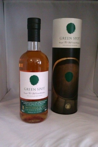 Green Spot Mitchells Irish Whiskey Whisky 0,7 l