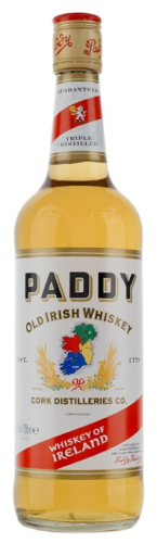 Paddy Irish Whiskey Whisky 0,7 l