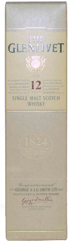 The Glenlivet 12 Y. Whisky 0,7 l