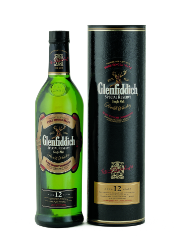 Glenfiddich 12 Y.  Whisky 0,7 l