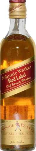 Johnnie Walker red Label Whisky 0,35 l