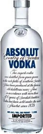 Absolut Vodka  Wodka 0,05 l