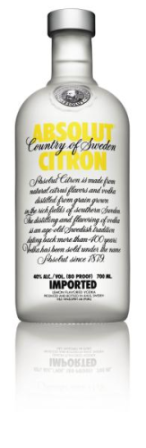 Absolut Vodka Citron Wodka 0,7 l