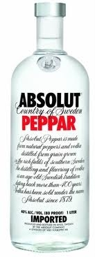 Absolut Vodka Peppar Wodka 0,5 l